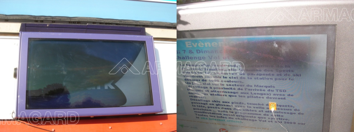 Installer un caisson LCD - Installer un panneau d'affichage