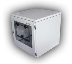 Armoire PC avec espace imprimante en acier