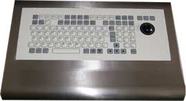 Keyboard with trackerball